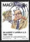 Sellos del Mundo : Europa : Malta : Dr. Albert Laferla