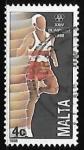 Stamps Malta -  Juegos Olimpicos Seul 1988