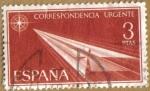 Stamps Spain -   Alegorias