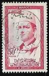Stamps Morocco -  King Mohammed V