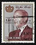 Stamps Morocco -  King Hassan II