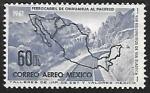 Sellos del Mundo : America : México : Ferrocarril de Chihuahua al Pacifico