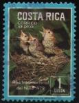 Stamps Costa Rica -  AÑO  INTERNACIONAL  DEL  NIÑO