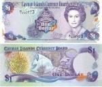 monedas de Europa - Reino Unido -  Dólar de Islas Caimán