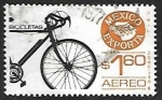 Sellos de America - México -  Mexico exporta - bicicleta