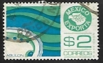 Stamps Mexico -  Mexico esporta - Abalone