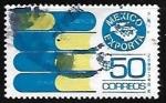 Stamps of the world : Mexico :  Mexico exporta - libros
