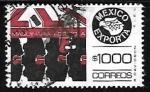 Stamps Mexico -  Mexico exporta - maquinaria agricoloa
