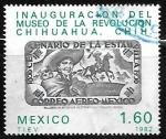 Sellos del Mundo : America : México : Inauguracion del Museo de la Revolucion Chihuahua