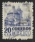 Stamps Mexico -  Catedral de Puebla
