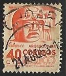 Sellos de America - México -  Cabeza de piedra en Tabasco