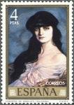 Sellos de Europa - España -  ESPAÑA 1971 2024 Sello Nuevo Pintor Ignacio de Zuloaga Condesa de Noalles