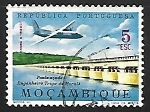 Sellos de Africa - Mozambique -  Puente Ingeniero Trigo de Morais
