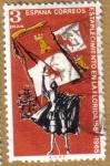 Stamps Spain -  Fundacion de San Agustin, Florida