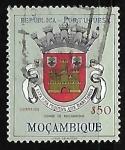 Sellos de Africa - Mozambique -  Escudo de armas