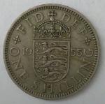 monedas de Europa - Reino Unido -  1955 reverso