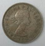 monedas de Europa - Reino Unido -  1955 anverso