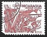 Sellos de America - Nicaragua -  Reforma agraria - Azucar
