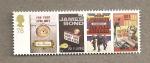 Stamps United Kingdom -  Peliculas James Bond