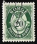 Stamps Norway -  Posthorn