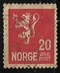 Sellos de Europa - Noruega -  Leon