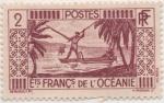 Sellos de Oceania - Polynesia -  FR_Cologne_Scott Nº 81
