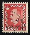 Stamps Norway -  King Haakon VII