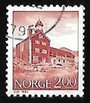 Stamps Norway -  Tofte royal residence, Dovre