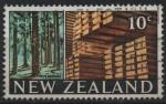 Stamps New Zealand -  MADERA  DE  PINO  ESTRIBADA