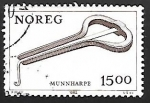 Stamps Norway -  Instrumentos musicales