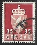 Stamps : Europe : Norway :  Escudo de armas