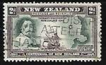 Sellos de Oceania - Nueva Zelanda -  Abel Tasman descubrimiento de Nueva Zelandia