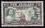 Stamps New Zealand -  Abel Tasman descubrimiento de Nueva Zelandia