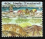 Stamps of the world : New Zealand :  Playa