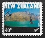 Stamps New Zealand -  100 años del turismo