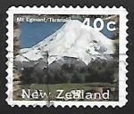Stamps New Zealand -  Monte Egmont / Taranaki