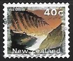Sellos de Oceania - Nueva Zelanda -  Glacial Fox