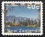 Stamps New Zealand -  Lago Wakatipu