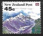 Sellos de Oceania - Nueva Zelanda -  Glacial