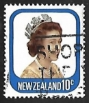 Stamps of the world : New Zealand :  Queen Elizabeth II