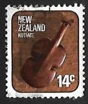Sellos de Oceania - Nueva Zelanda -  Artesania