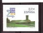 Sellos de Europa - España -  EXPO ZARAGOZA 2008