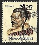 Stamps New Zealand -  Te Hau
