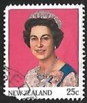 Sellos del Mundo : Oceania : Nueva_Zelanda : Queen Elisabeth II