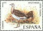 Stamps Spain -  ESPAÑA 1971 2036 Sello Nuevo Fauna Hispanica Avutarda Otis Tarda