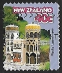Stamps : Oceania : New_Zealand :  Indian Palace