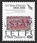 Stamps : Oceania : New_Zealand :  150 aniversario del sello