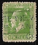 Stamps New Zealand -  King George V