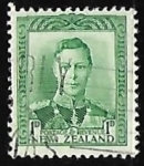 Stamps New Zealand -  King George VI