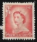 sellos de Oceania - Nueva Zelanda -  Queen Elizabeth II